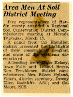 Hardin county at regional SCD meeting.