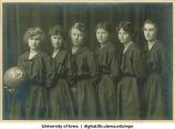 Women's basketball team, The University of Iowa, 1919