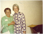 Mary Louise Smith with National Committeewoman of Oregon Dorotha Moore, Washington, D.C., 1970s