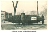 Submarine on display for Mecca Day, The University of Iowa, 1916