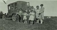 Students Using the Book Caravan