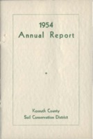 1954 Kossuth County Soil and Water Conservation District Annual Report