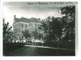 Southeast view of Calvin Hall on the Pentacrest, the University of Iowa, between 1900 and 1905