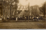 Old Main; Fire; Penn College