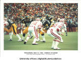 Iowa-Wisconsin football game at Kinnick Stadium, The University of Iowa, November 13, 1982