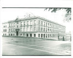 Engineering Building on Capitol and Washington Streets, the University of Iowa, 1950s?