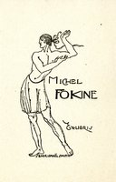 Michel Fokine Bookplate