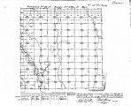 Iowa land survey map of t092n, r011w