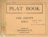 Plat book of Cass County, Iowa