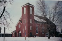St. Joseph's Catholic Church in Garnavillo, Iowa -1987