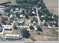 Aerial view East Amana, East Amana, Iowa, Aug. 1988