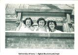 Kay McDonald, Frankie and Betty Everett, The University of Iowa, 1940s