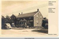 Greetings from Amana Colonies, Bakery, Amana, Iowa, 1940s
