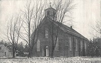 St. Joseph's Catholic Church in Garnavillo, Iowa -1877