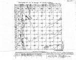 Iowa land survey map of t074n, r023w