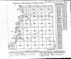 Iowa land survey map of t093n, r048w