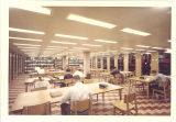 Study area near Main Library periodicals collection, the University of Iowa, May 1964