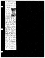 Clipping about Donald Ashton's service in World War II