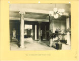 View from the front foor of the entrance to the Women's Lounge in Schaeffer Hall, The University of Iowa, 1935