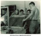 War poster design workshop, The University of Iowa, 1942-43