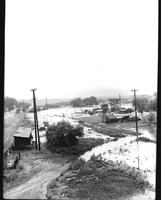 1947 Flood Down town Malvern
