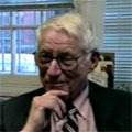 Gil Cranberg interview about journalism career [part 1], Iowa City, Iowa, November 2, 1999