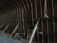 008.  Barn Loft Wall with Support