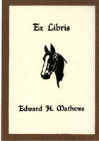 Edward H. Mathews Bookplate