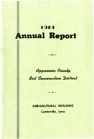 Annual report, 1961.