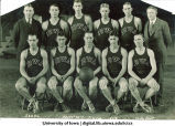 Iowa basketball team, The University of Iowa, 1924