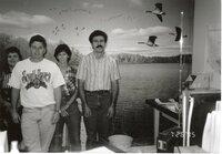 1995 - Employees  Jamie Fair, Drew DeLang, Pat Koller, and  Mike Lewitke