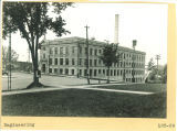 Northeast corner of Engineering Building viewed from Pentacrest, the University of Iowa, 1918