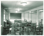 Classroom in the Gilmore Hall law barracks, the University of Iowa, 1954