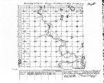 Iowa land survey map of t090n, r026w