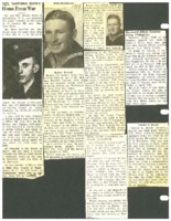 Clippings about various Beaman area servicemen