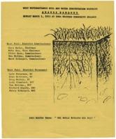 Awards banquet agenda, 1993.