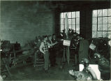 Open house at Engineering Building, The University of Iowa, 1930s