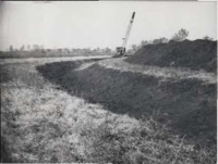 Open Ditch on Jerry Wolf's farm.