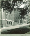 Market Street hill on south side of the Chemistry-Botany Building, The University of Iowa, June 1926