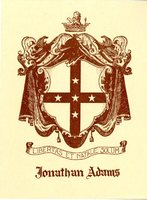 Jonathan Adams Bookplate