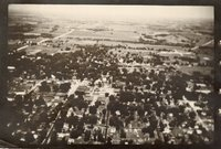 Photograph In Sepia Of A Davis County Town