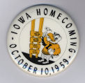 Homecoming badge, October 10, 1959