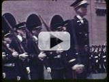 Military ceremonies, The University of Iowa, 1930s