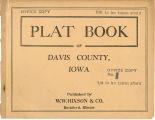 Plat book of Davis County, Iowa