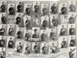 The Iowa Brigade Band Oskaloosa led by C.L. Barnhouse, Bandmaster in 1896