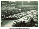 Inauguration ceremony at the Field House, The University of Iowa, 1933