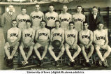 Iowa basketball team, The University of Iowa, 1926