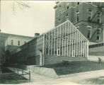 Botany greenhouse west of Calvin Hall, the University of Iowa, April 1926