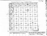 Iowa land survey map of t086n, r043w