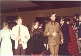Dancers at Scottish Highlander banquet, The University of Iowa, May 1978